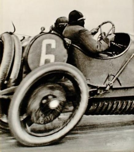 Jacques Henri Lartigue - Grand Prix of the Automobile Club of France, Course at Dieppe - 1912